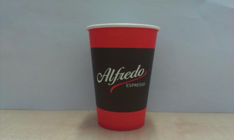 Pahar Vending Carton Alfredo 180ml